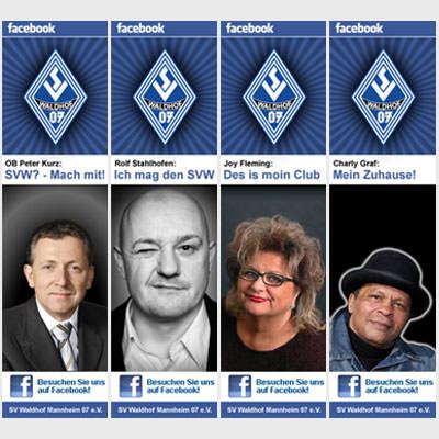 SV Waldhof Mannheim - Marketingaktion für den Facebookaccount des Vereins
